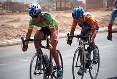 دانشور در راه مسابقات دوچرخهسواری آسیایی