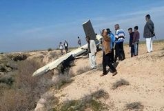 سقوط یک پهپاد در روستای سنیجه ملاثانی خوزستان