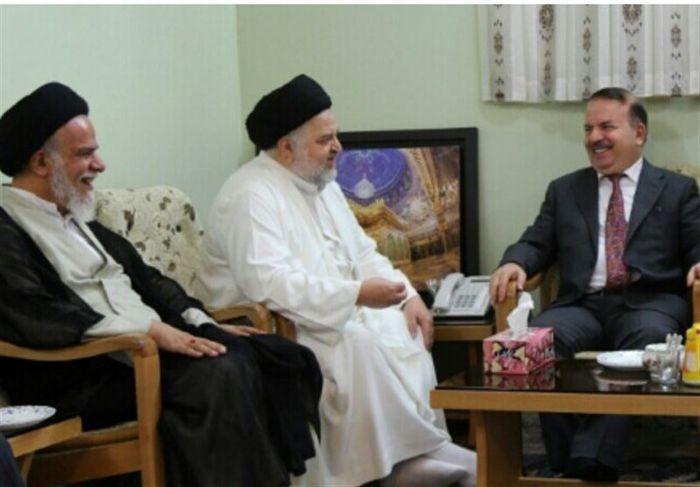 وزیر کشور عراق به قم سفر کرد