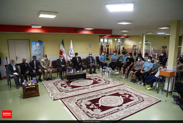 حضور سلطانیفر در تمرین ملیپوشان وزنهبرداری