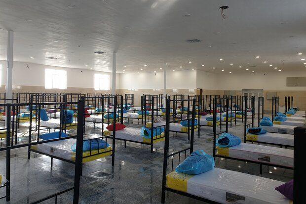 راهاندازی اقامتگاه غیر بیمارستانی مبتلایان به کرونا در زاهدان