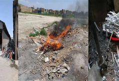 شناسایی 2 واحد تولیدی آلاینده در قلعه میر بهارستان