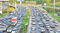 کدام استانهای کشور برفی و بارانی است؟/ ترافیک سنگین در آزادراه کرج-تهران