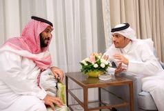 پشت پرده عکس جنجالی دیدار ولیعهد عربستان با وزیر خارجه قطر