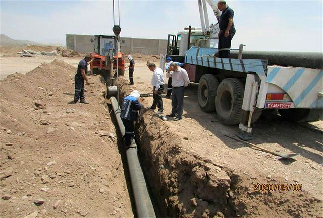 حجم منابع تامین آب شهر قیام دشت 52 لیتر در ثانیه افزایش یافت