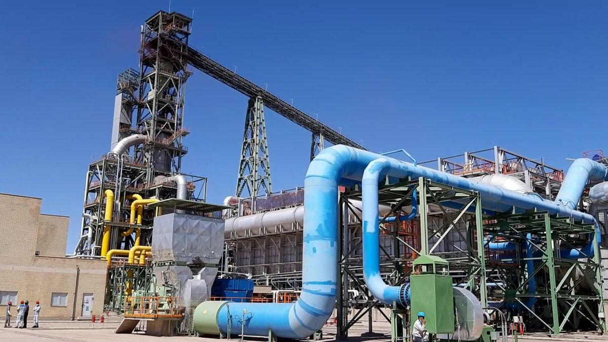 ارسال اولین محموله از تولیدات مجتمع فولاد قائنات به شمال کشور