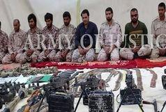 گروهک تروریستی «جیشالظلم» آزادی 5 نفر از مرزبانان ربوده شده را تایید کرد