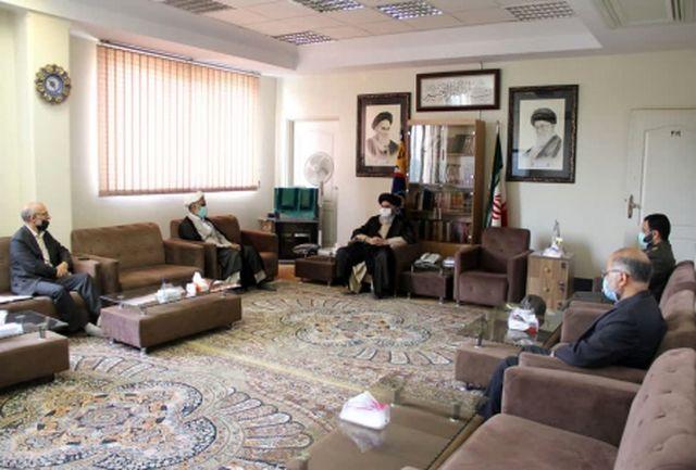 رئیس سازمان عقیدتی سیاسی وزارت دفاع با نماینده ولی فقیه در سپاه دیدار کرد