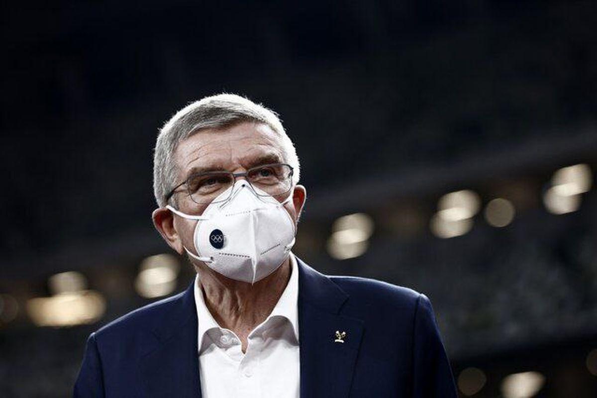 توماس باخ وارد توکیو شد/ قرنطینه ۳ روزه رییس IOC