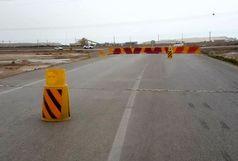 مسیرهای روستایی بندر ماهشهر مسدود شد