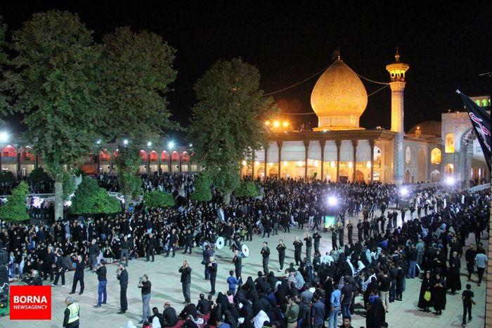عزاداری پرشور حسینی در شیراز