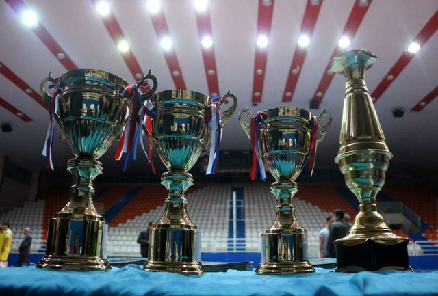قهرمانی اداره زندان ها در مسابقات فوتسال کارمندان دولت همدان
