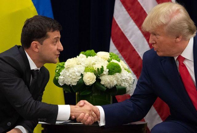 ترامپ متن مکالمه اولش با رئیس جمهوری اوکراین را منتشر میکند
