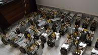 13 دستگاه استخراج ارز دیجیتال در تاکستان کشف شد