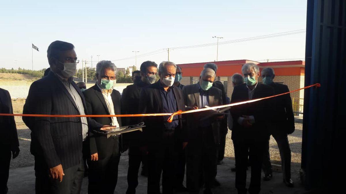 افتتاح ، کلنگ زنی و بازدید استاندار قم از واحدهای صنعتی منطقه ویژه اقتصادی سلفچگان