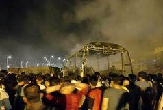 علت تصادف مرگبار تانکر سوخت با اتوبوس مسافربری در  سنندج از زبان مسوولان ترمینال/  تانکر نفت عراقی بود