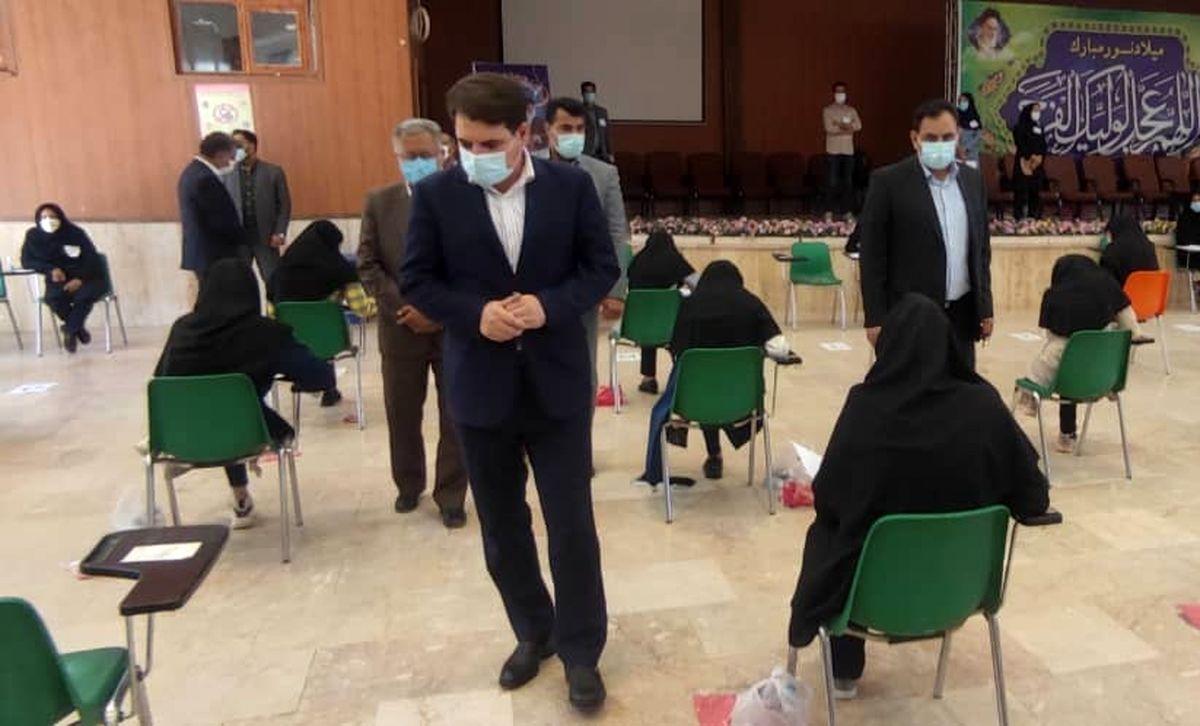 حوزههای امتحانی به لحاظ شیوهنامههای بهداشتی کنترل شدهاند