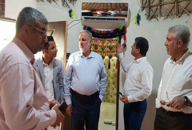 بازدید رئیس سازمان میراث فرهنگی کشور از نوار ساحلی چابهار- گواتر