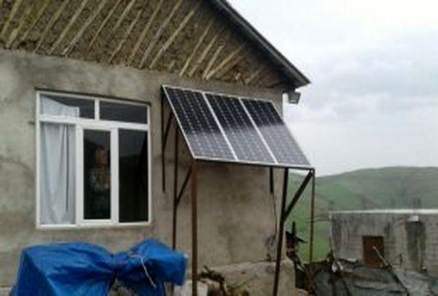 تامین برق 16 روستای گیلان از خورشید