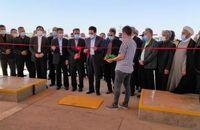 افتتاح جایگاه عرضه سوخت در منطقه اردبیل