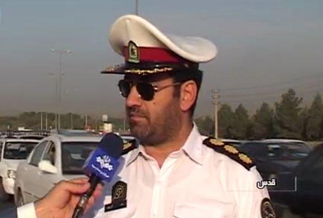 اجرای طرح زمستانی پلیس راهور غرب استان تهران