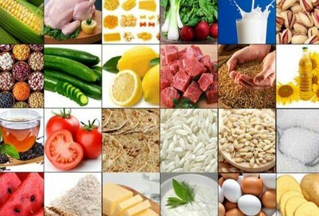 تغییرات قیمت کالاهای خوراکی در آخرین ماه پاییز