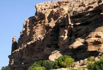 غار کرفتو بزرگترین غار باستانی ایران