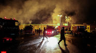 نجات ۸ تن از شهروندان گرفتار در آتش سوزی