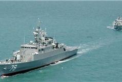 یک کشتی ایرانی به گل نشست