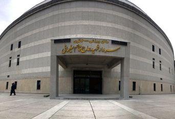 افتتاح سالن 6 هزار نفری سردار سلیمانی ساری