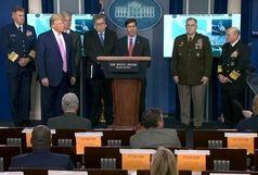 وزیر دفاع آمریکا: ایران رفتارهای مخربش در منطقه را متوقف کند