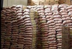 ۹ تن برنج احتکار شده در فومن کشف شد