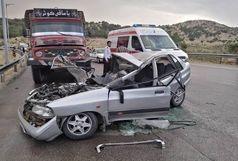 ۲ کشته و ۲ مصدوم  در تصادف جاده یاسوج به اصفهان