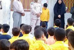 زنگ مهر در مدارس مرزی شهرستان بندرعباس نواخته شد