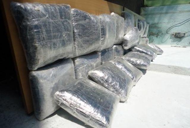 دستگیری دو قاچاقچی و کشف170کیلو تریاک در رابر