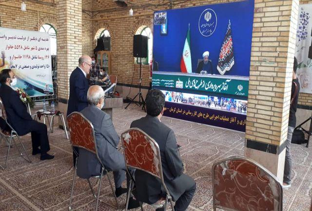 افتتاح ۳۰۸ میلیارد تومان پروژه گازرسانی به استان کرمان