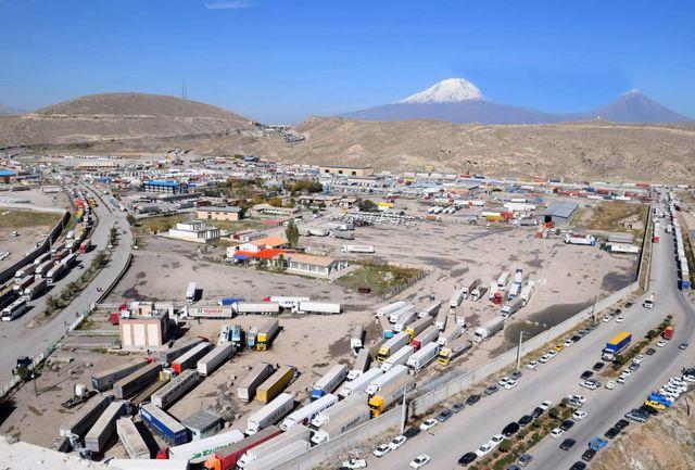 واردات بیش از ۱۱۶ هزار تن کالا از مرز بازرگان