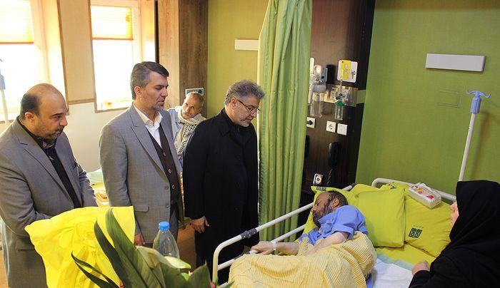 مناجاتخوان قدیمی کشور روی تخت بیمارستان