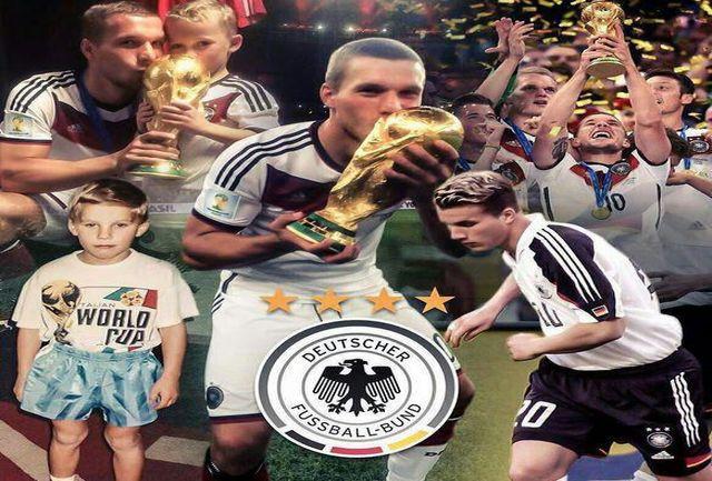 مهاجم تیم ملی آلمان کفش هایش را آویخت