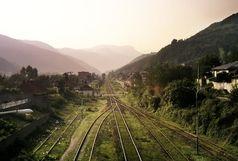 راه آهن شمال تا اول فروردین ۹۸ مسدود است