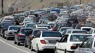 اعمال محدودیت های ترافیکی پایان هفته در محور کرج - چالوس