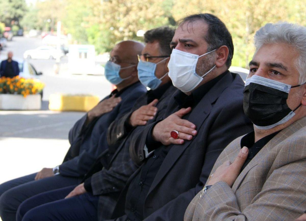 مراسم اربعین حسینی در شرکت توسعه
