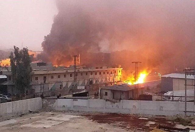 کشته شدن چهار غیرنظامی بر اثر انفجار بمب در شمال سوریه
