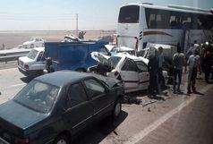تصادف ماشین نمایندگان مجلس با یک کامیون/نماینده مردم چابهار در سفر حضور نداشته است