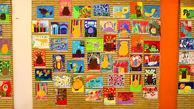 نمایش آثار برتر جشنواره نقاشی کودکان بیمار در هفته ملی کودک