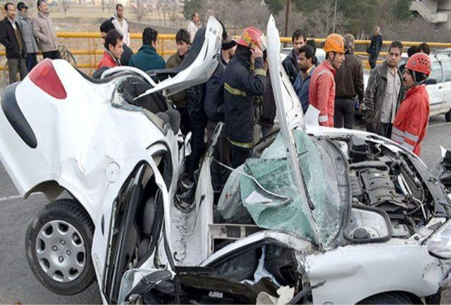 4 کشته و مصدوم در پی انحراف خودروی 206