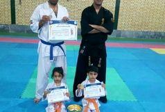 محیط بان زنجانی نایب قهرمان مسابقات پرفکت کاراته پیشکسوتان کشور شد