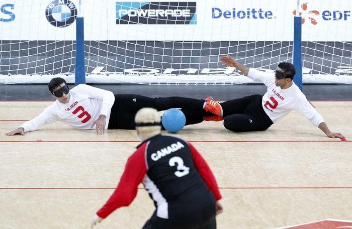تیم ملی گلبال ایران مقابل ژاپن به پیروزی رسید