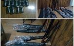 کشف 11 قبضه سلاح شکاری غیرمجاز درفومن