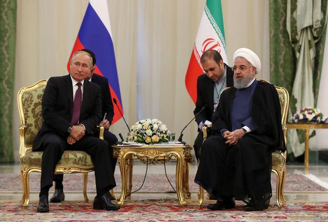 روابط بانکی و مناسبات کارگزاری ایران و روسیه باید گسترش یابد/ پوتین: روسیه مشغول رایزنی با طرفهای برجام برای توسعه روابط اقتصادی با ایران است